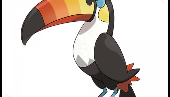 Pokémon Sun & Moon – Toucannon