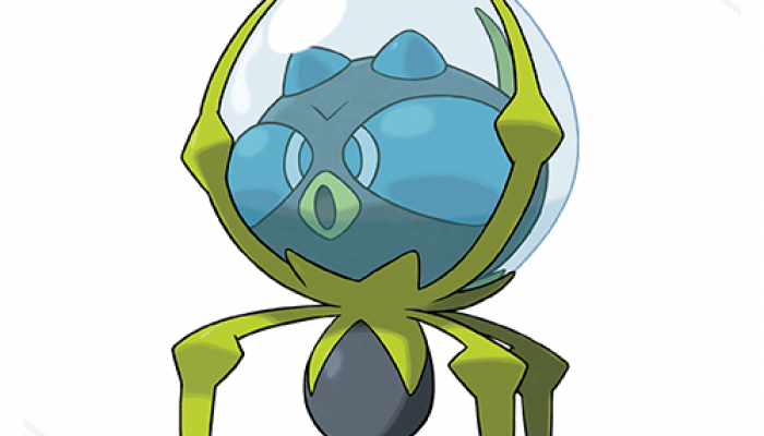 Pokémon Sun & Moon – Dewpider