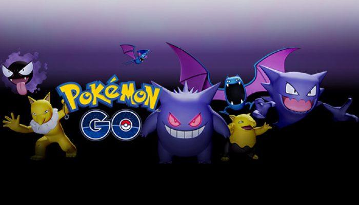Pokémon : 'Des surprises d'Halloween dans Pokémon Go'