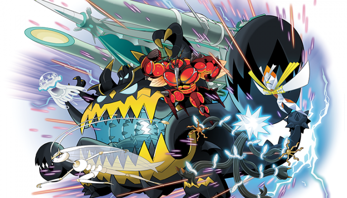 Pokémon Sun & Moon – Launch Artwork for Ultra Beasts