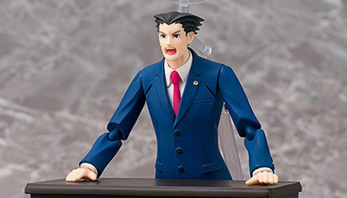 Capcom: 'Take That! The Phoenix Wright figma is now available for pre-order!'