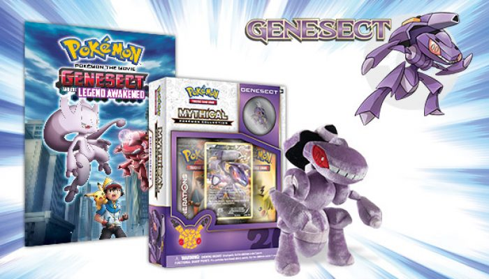 Pokémon: 'Have a Blast with Genesect in November'