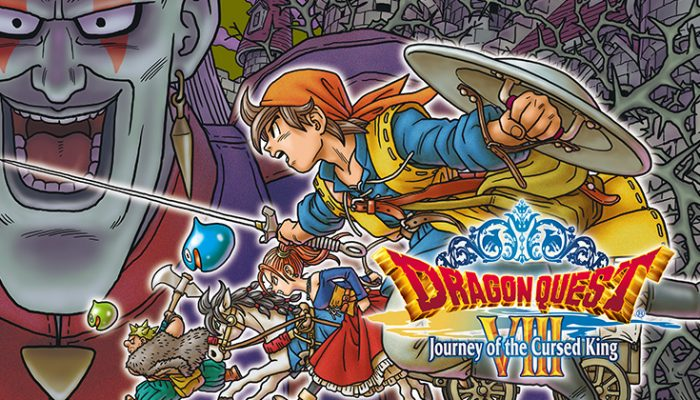 NoA: 'The New Year brings a new world to save when Dragon Quest VIII: Journey of the Cursed King releases for Nintendo 3DS on Jan. 20'