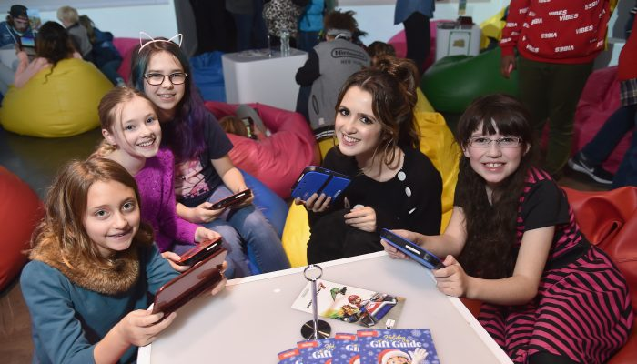 Pictures of the Nintendo 3DS Girls Gaming Event at Lightbox