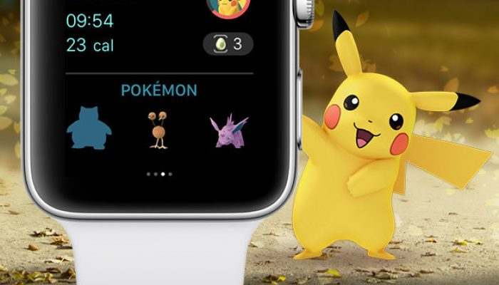 Niantic: 'Pokémon Go is now on the Apple Watch, just in time for the Holidays'
