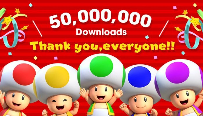 Super Mario Run reaches 50 million downloads