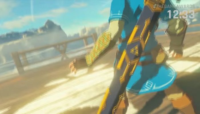Nintendo and Breath of the Wild at The Game Awards 2016