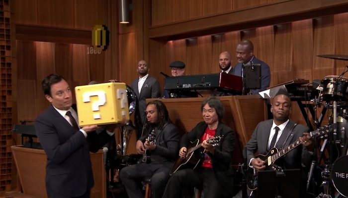 "Shigeru Miyamoto and The Roots Perform ""Super Mario Bros. Theme"""