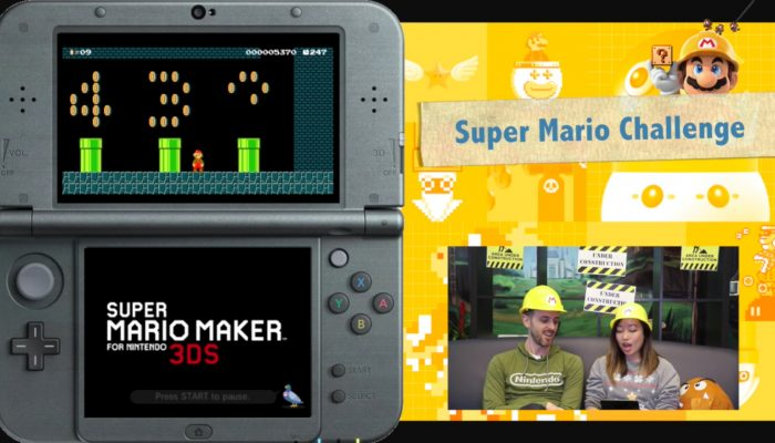 Nintendo Minute – Super Mario Maker for Nintendo 3DS