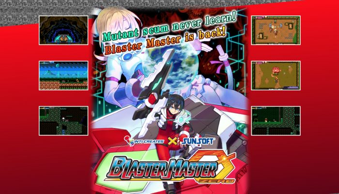 Blaster Master Zero announced for Nintendo 3DS