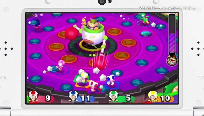 Mario Party: Star Rush – Japanese Overview Trailer