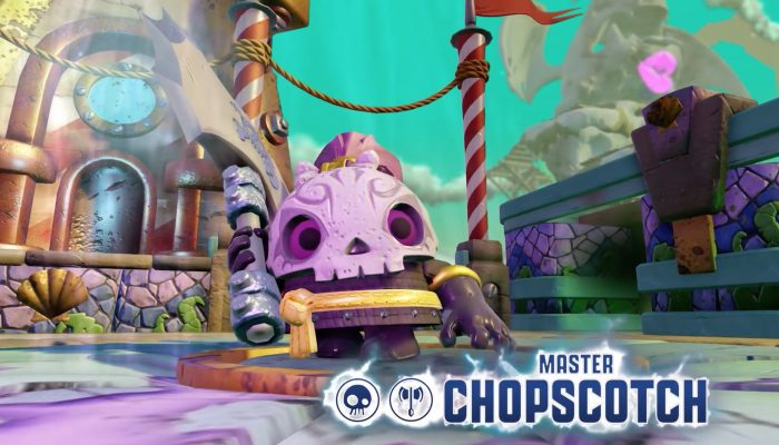 Skylanders Imaginators – Meet Master Chopscotch