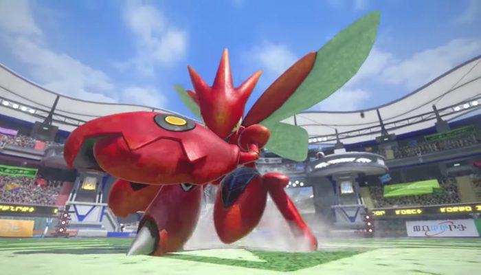 Pokkén Tournament – Scizor Trailer