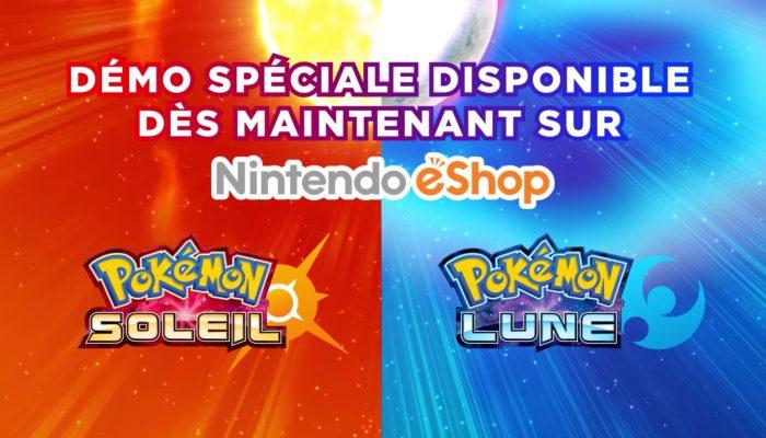 Pokémon Soleil & Lune – Démo disponible dès maintenant !