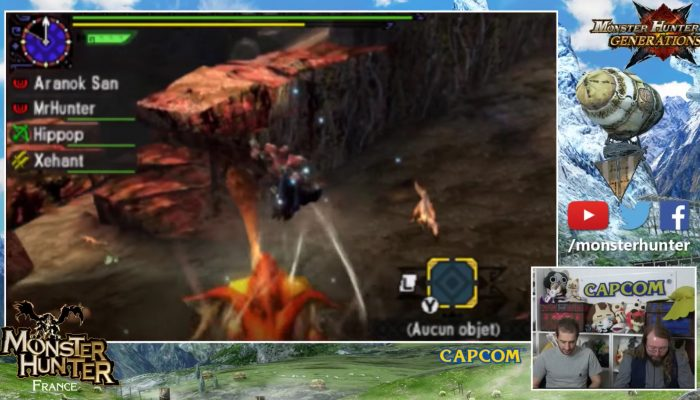 100 % Monster Hunter – Stream du 25/10/2016