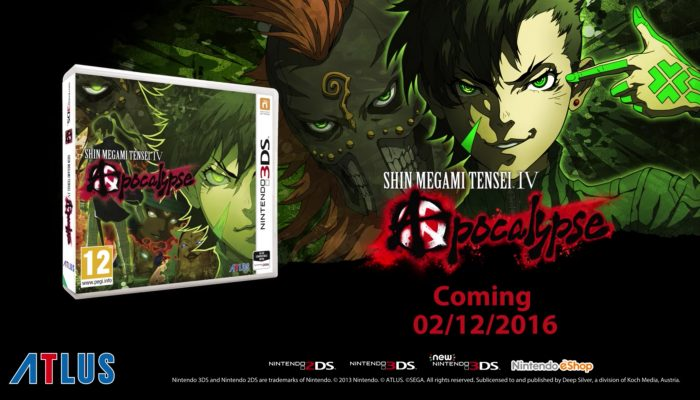 Shin Megami Tensei IV Apocalypse available in Europe on December 2