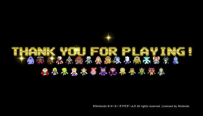 Hyrule Warriors Legends – Thank You For Playing!