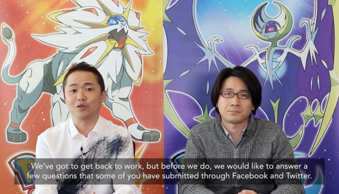 Pokémon Sun & Moon – Developer Q & A