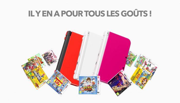 New Nintendo 3DS XL – Nouveaux coloris disponibles !