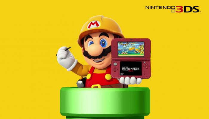 Super Mario Maker for Nintendo 3DS – Japanese Commercials