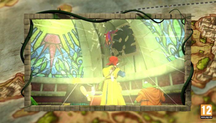 Dragon Quest VIII : L'Odyssée du roi maudit – Bande-annonce de l'histoire