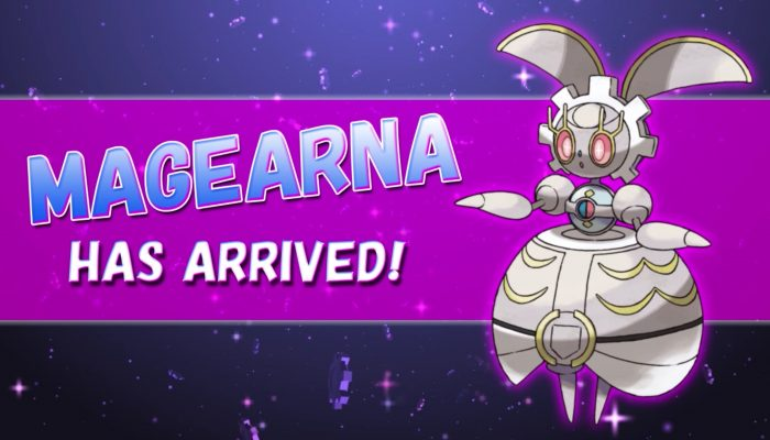 Pokémon Sun & Moon – Add the Power of Magearna to your Game!