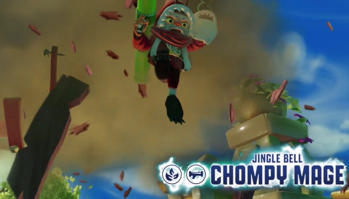 Skylanders Imaginators – Meet Jingle Bell Chompy Mage