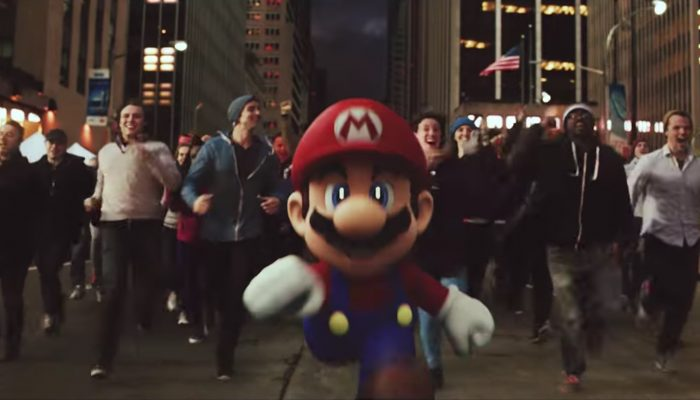 Super Mario Run Commercial