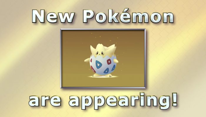 Pokémon Go – More Pokémon are here!