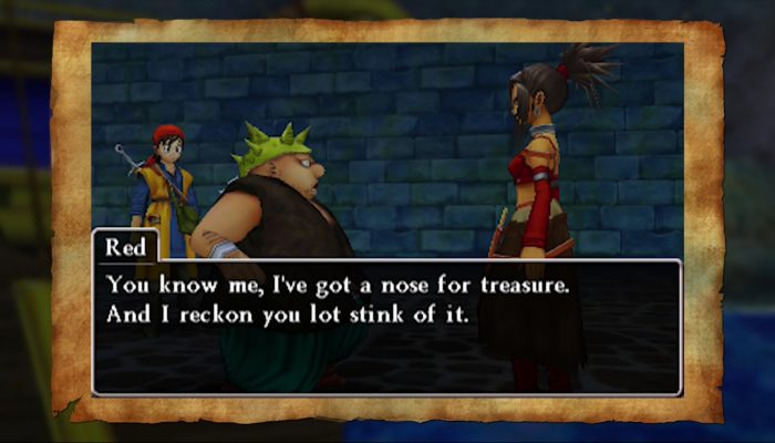 Dragon Quest VIII: Journey of the Cursed King – Introducing Red