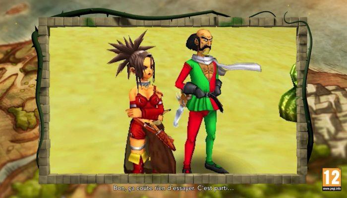Dragon Quest VIII : L'Odyssée du roi maudit – Bande-annonce des fonctionnalités