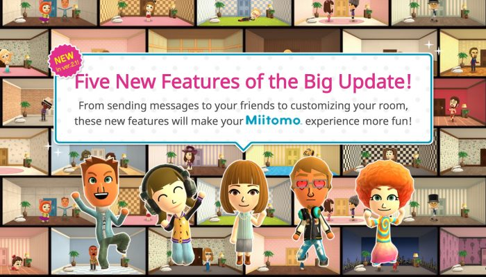 Miitomo version 2.1 is now available