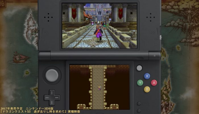 Dragon Quest XI – Japanese Nintendo 3DS Gameplay