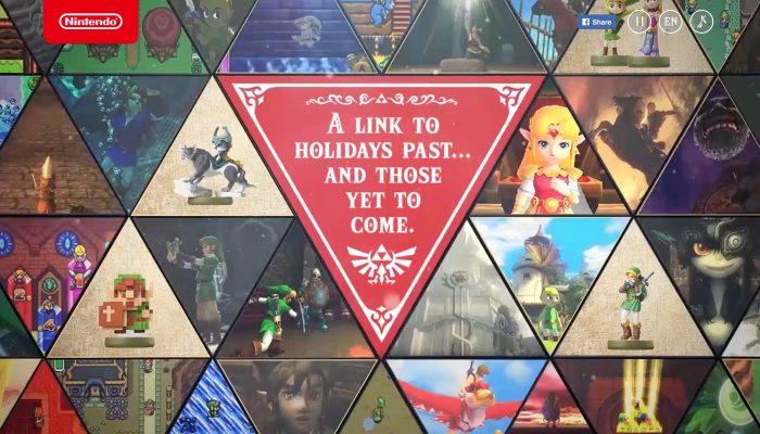 Happy holidays from Nintendo of America