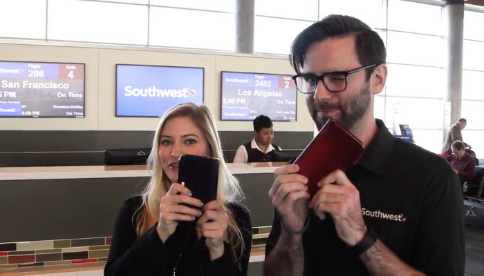 Here's the recap video from Southwest Airlines' holiday surprise