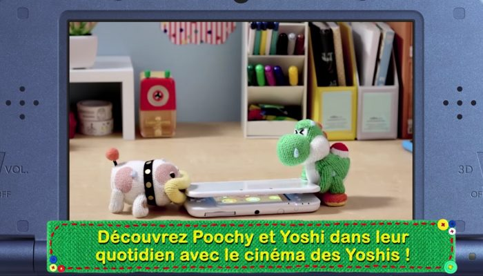 Poochy & Yoshi's Woolly World – Bande-annonce des nouvelles fonctionnalités