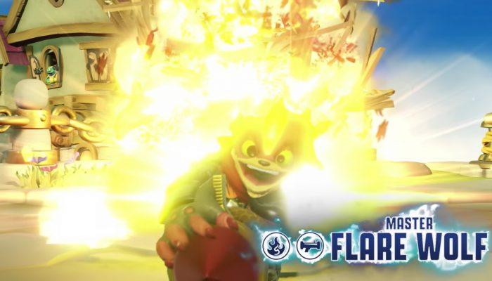 Skylanders Imaginators – Meet Master Flare Wolf