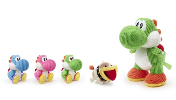 Poochy & Yoshi's Woolly World – Japanese amiibo Trailer