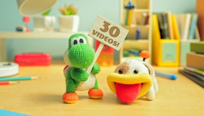NoE: 'Unravel the info on Poochy & Yoshi's Woolly World at our official website!'