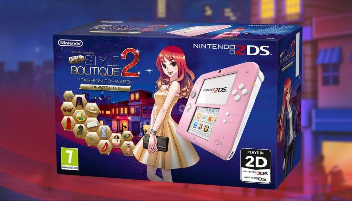 New Style Boutique 2 Nintendo 2DS bundle available in Europe