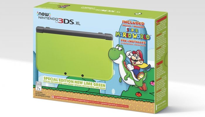 Amazon getting an exclusive Lime Green New Nintendo 3DS XL