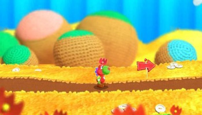 Poochy & Yoshi's Woolly World lets you design your own Yoshi patterns