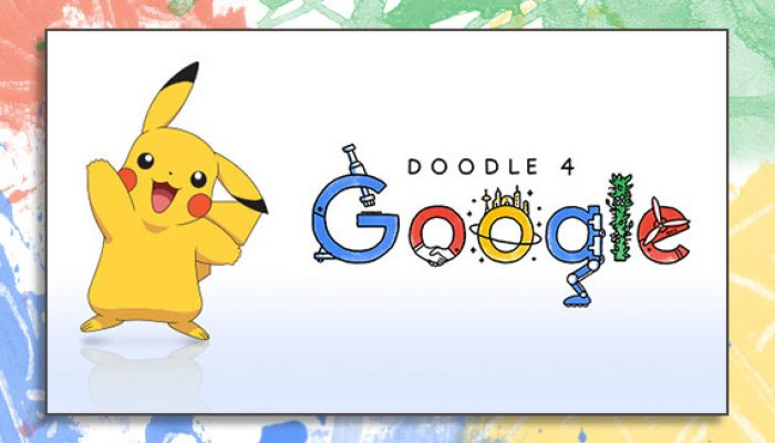 Pokémon: 'Get Creative with Doodle 4 Google'