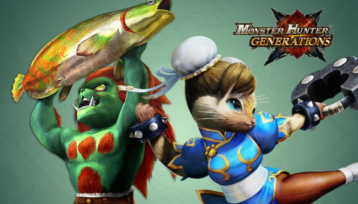 Capcom: 'Monster Hunter Generations – December Free DLC Pack'