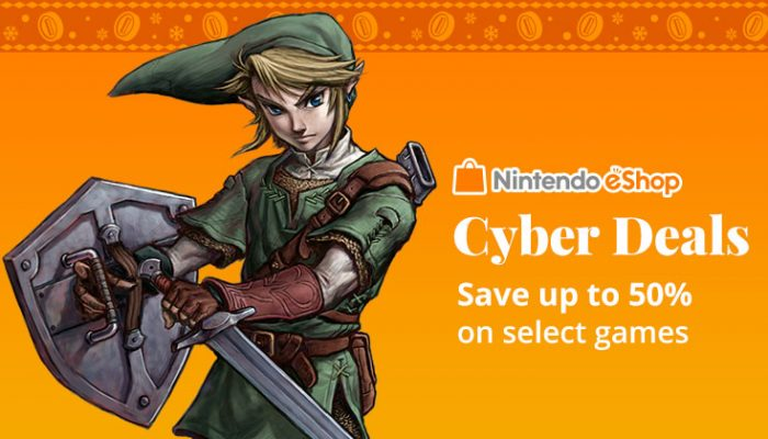 NoA: 'Nintendo offers Cyber Deals at up to 50% off'