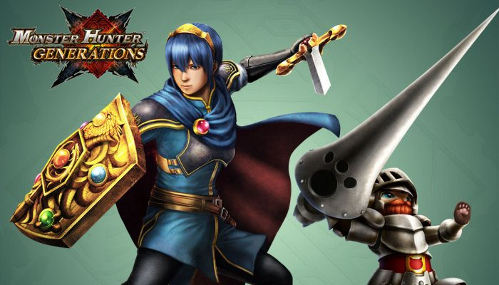Capcom: 'Monster Hunter Generations – October Free DLC Pack'