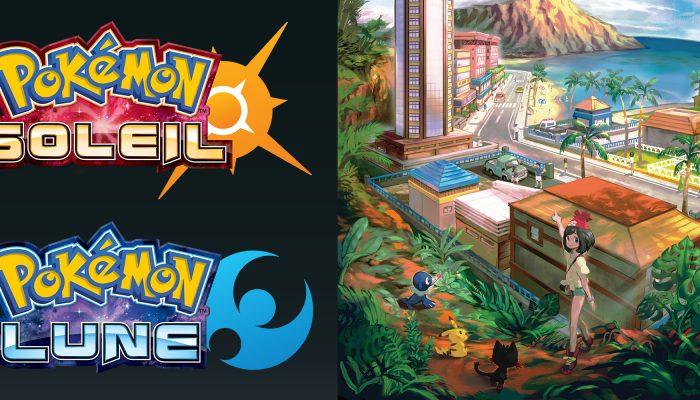 Nintendo France : 'D'[autres] nouveaux Pokémon et personnages de Pokémon Soleil et Pokémon Lune ont été révélés !'