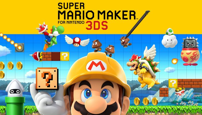 NoE: 'Play, create and share anytime, anywhere. Our new Super Mario Maker for Nintendo 3DS website is live!'