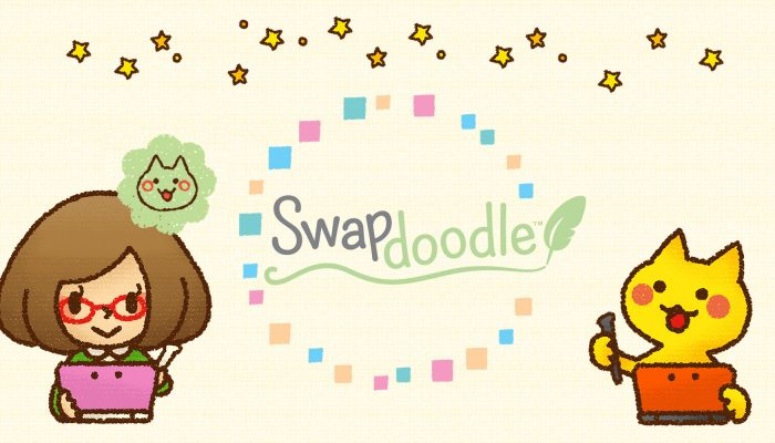 NoE: 'Swap sketches with friends in free download Swapdoodle, out now on Nintendo 3DS family systems'