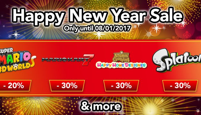 NoE: 'Nintendo eShop Sale: Happy New Year Sale'